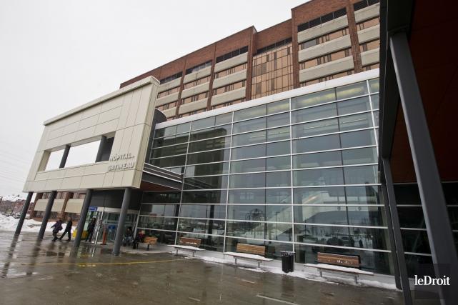 Hôpital de Gatineau... (Archives, Le Droit)