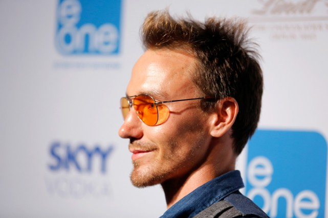 Le documentariste Rob Stewart en 2013.... (PHOTO ARCHIVES AFP)