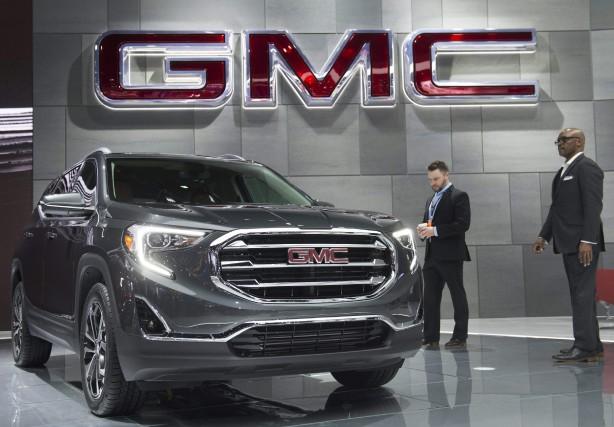 Seule la marque GMC a connu un bon... (Photo : AFP)