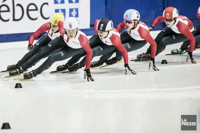 Patinage de vitesse Canada avait choisi d'annuler la... (Photo Edouard Plante-Fréchette, La Presse)