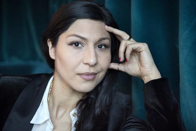 L'actrice suédoise d'origine iranienne Bahar Pars, qui espère voir son film... (PHOTO ARCHIVES AP)