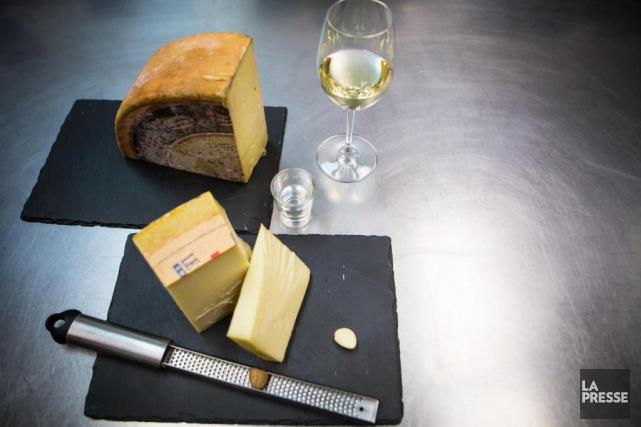 Les ingrédients qui entrent dans la composition de... (Photo Olivier Jean, La Presse)