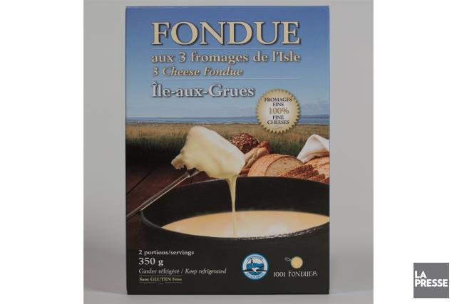 Fondue aux trois fromages de l'Isle, 15,99$ pour... (Photo Ivanoh Demers, La Presse)