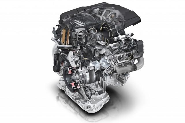 Un V6 qui coûte 1,2 milliard de dollars... (photo : Audi)