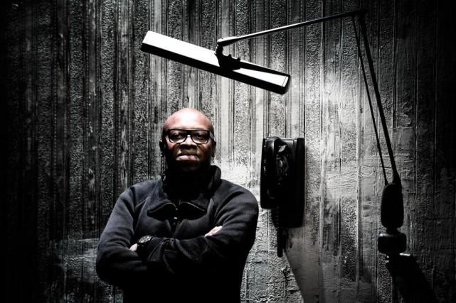 Didier Lucien présente le spectacle soloAi-je du sang... (Photo Bernard Brault, La Presse)