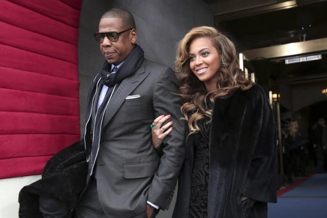 Jay-Z et Beyoncé sont mariés depuis 2008.... (PHOTO AP)