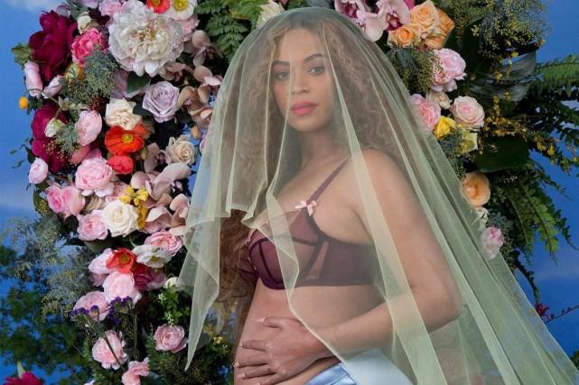 Beyoncé est enceinte de jumeaux.... (Photo tirée d'Instagram @beyonce)