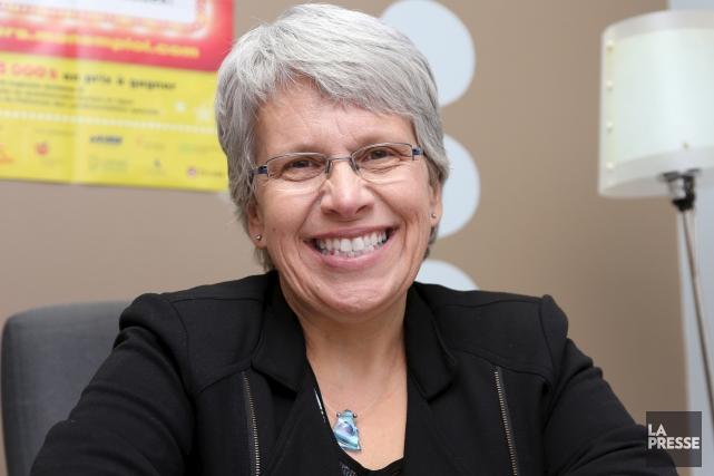La députée néo-démocrate Brigitte Sansoucy persiste et signe:... (archives La Presse)