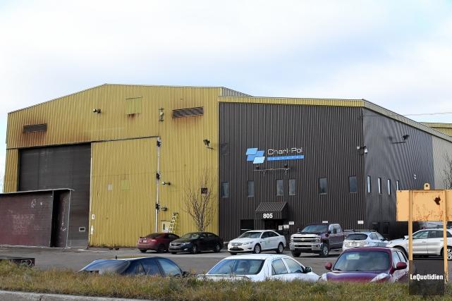 Selon le président de Charl-Pol, l'usine du chemin... (Archives Le Quotidien, Rocket Lavoie)
