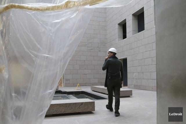 Le Musée des beaux-arts du Canada entreprend la... (PATRICK WOODBURY, Le Droit)