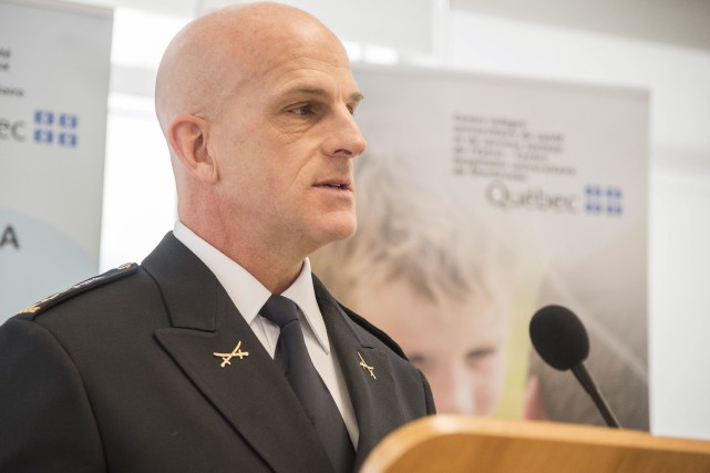 Le directeur du Service de police de Sherbrooke,... (Spectre Média, Frédéric Côté)