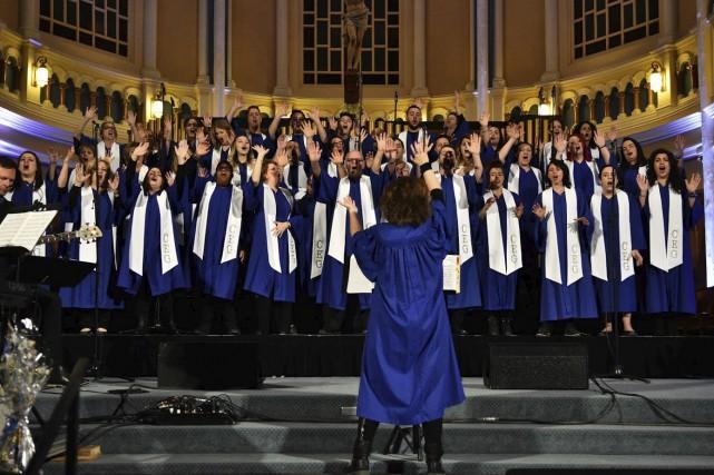 Le Choeur Expérience Gospel chantera le 13 mai,... (Photo courtoisie, Isabelle Gagnon)