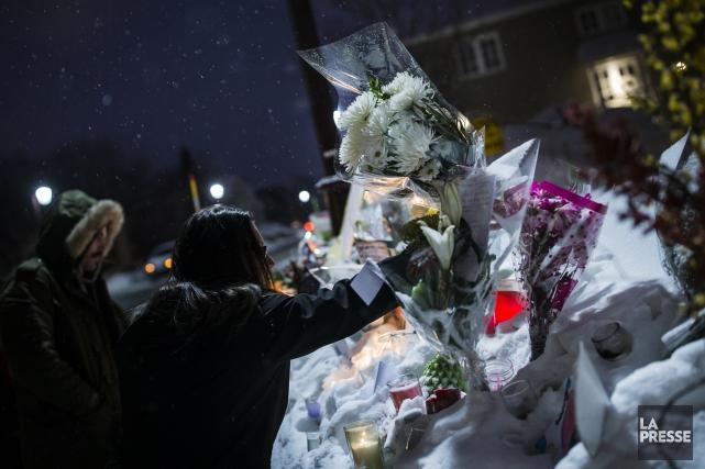 Cinq des six hommes ayant été tués dans... (PHOTO EDOUARD PLANTE-FRÉCHETTE, La Presse)