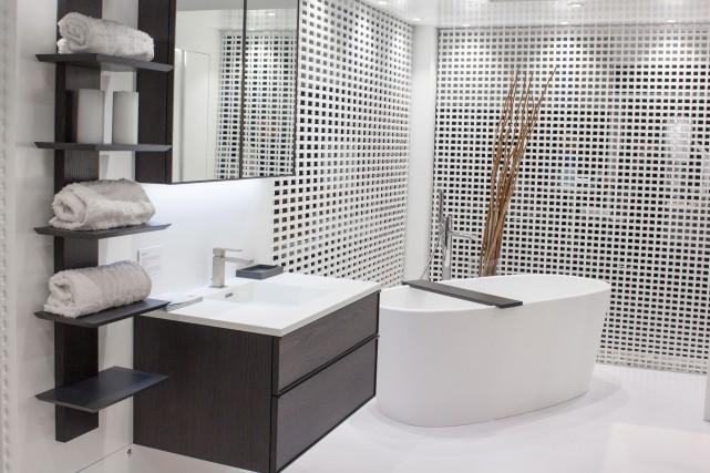 Un meuble-lavabo de la collection Frame Linea... (Fournie par Wetstyle)