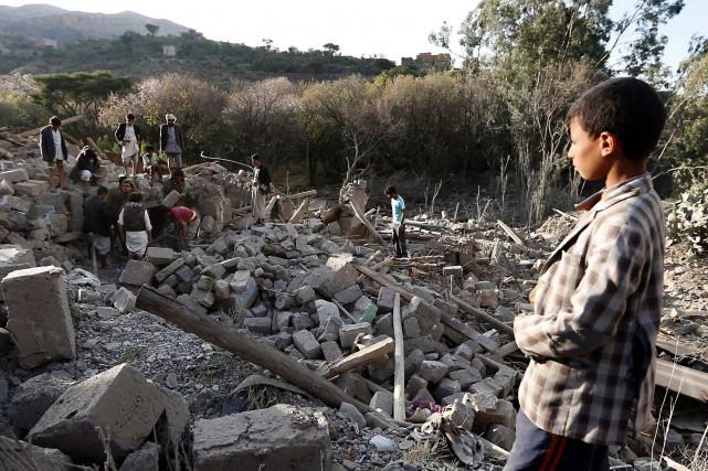 Le raid mené par les forces américaines contre... (Photo Mohammed HUWAIS, Agence France-Presse)