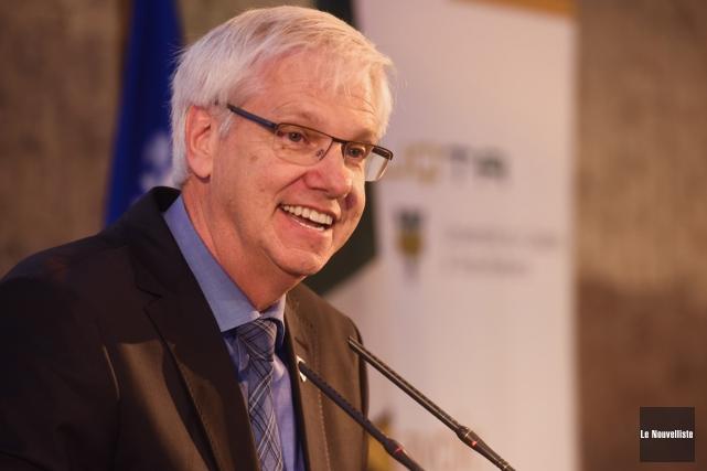 Le recteur de l'UQTR, Daniel McMahon.... (François Gervais, Le Nouvelliste)