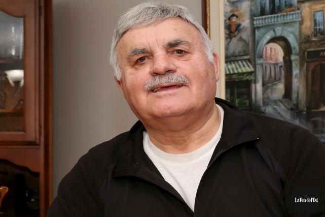 Réal Ouimet, ancien chef de police de la... (Christophe Boisseau-Dion, La Voix de l'Est)