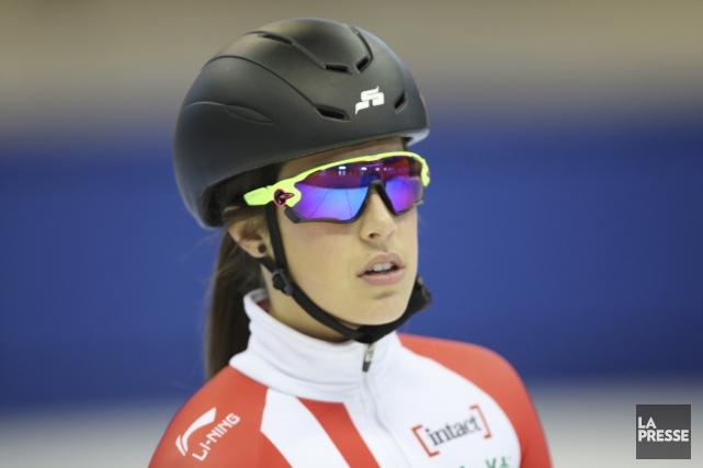 La Baieriveraine Valérie Maltais sera l'une des patineuses... (Archives La Presse)
