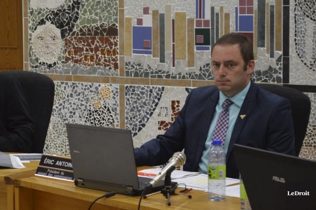 Le président de la CSCV,Éric Antoine... (Benoit Sabourin, Archives Le Droit)