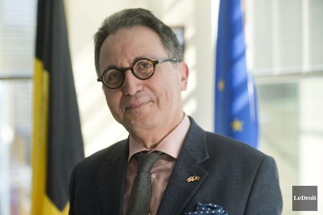 Pour l'ambassadeur de la Belgique au Canada, Raoul... (Martin Roy, Le Droit)