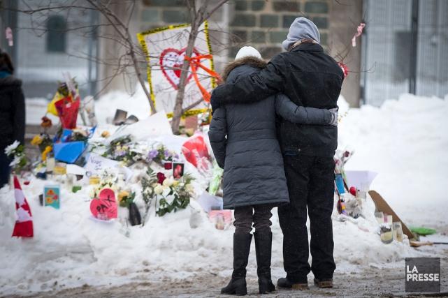 C'est ce qu'on appelle un vrai gars de Québec. Ni le terrorisme, ni la balle... (PHOTO OLIVIER JEAN, LA PRESSE)
