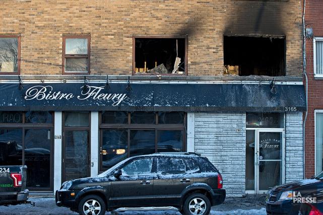 La valeur des dommages causés à l'immeuble de... (Photo Patrick Sanfaçon, La Presse)
