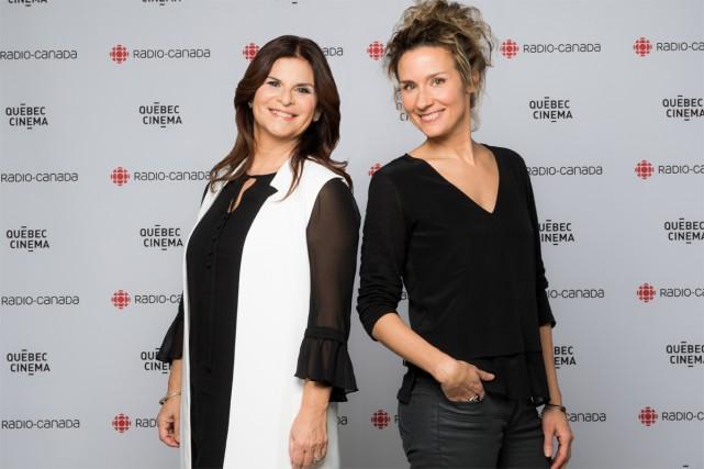 Édith Cochrane (à droite) et Guylaine Tremblay coanimeront... (fournie par Radio-Canada)