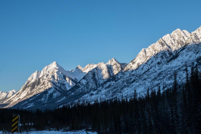 Les paysages légendaires du parc national Banff, le... (Photo Yannick Fleury, La Presse)