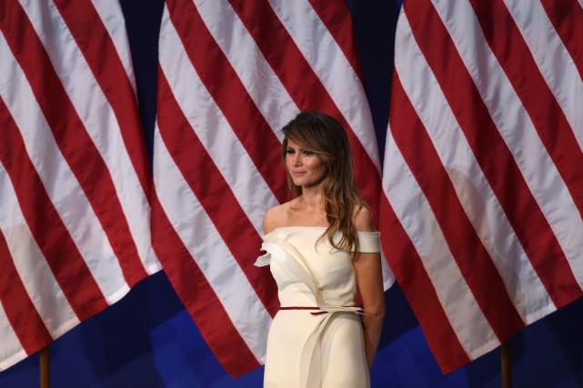 Melania Trump... (PHOTO SAUL LOEB, ARCHIVES AGENCE FRANCE-PRESSE)