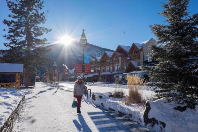 En semaine l'hiver, à part pendant les vacances... (Photo Yannick Fleury, La Presse)