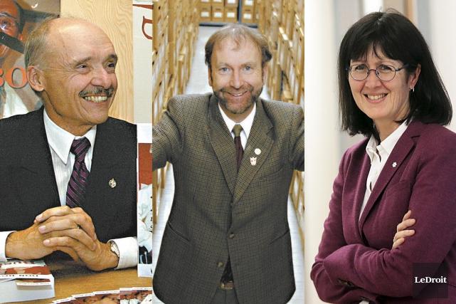 Don Boudria, Michel Prévost et Linda Cardinal sont... (Archives, Le Droit)