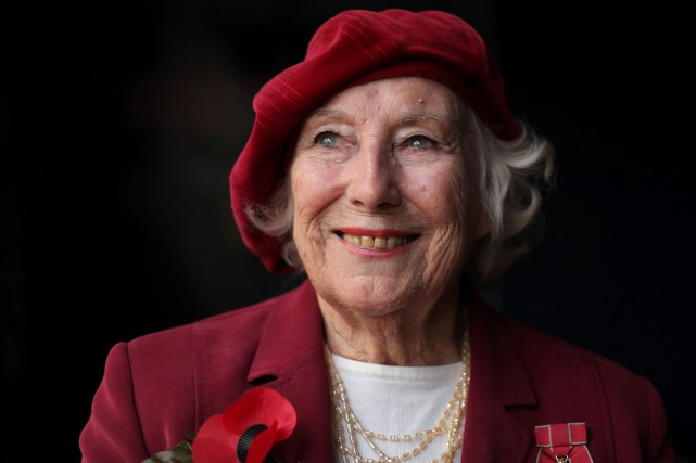 Vera Lynn en 2009.... (PHOTO ARCHIVES AFP)