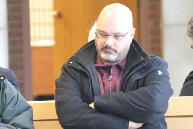 Éric Corriveau a été condamné à trois ans... (La Tribune, René-Charles Quirion)