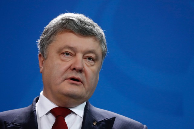 Petro Porochenko... (Photo Odd Andersen, archives Agence France-Presse)