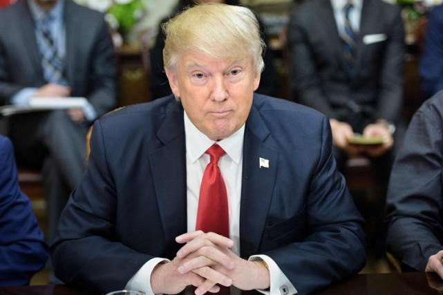 Le président américain Donald Trump... (PHOTO ARCHIVES AFP)