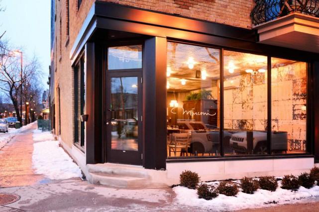Le restaurant Marconi vient d'ouvrir, avenue Mozart Ouest.... (Photo Bernard Brault, La Presse)