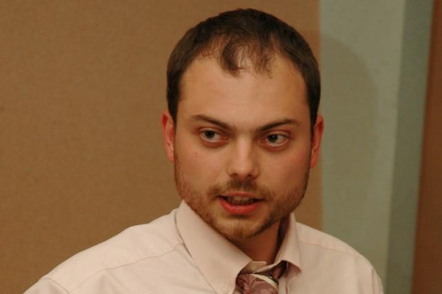 Jusqu'à l'année dernière, Vladimir Kara-Mourzaétait vice-président du parti... (PHOTO WIKICOMMONS)