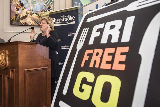 Karole Forand, directrice de la Corporation de développement... (Spectre média, Jessica Garneau)