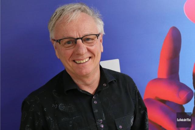 Le directeur général du Festival international de la... (Janick Marois, La Voix de l'Est)