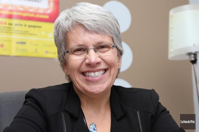 La députée néo-démocrate Brigitte Sansoucy persiste et signe:... (Christophe Boisseau-Dion, archives La Voix de l'Est)