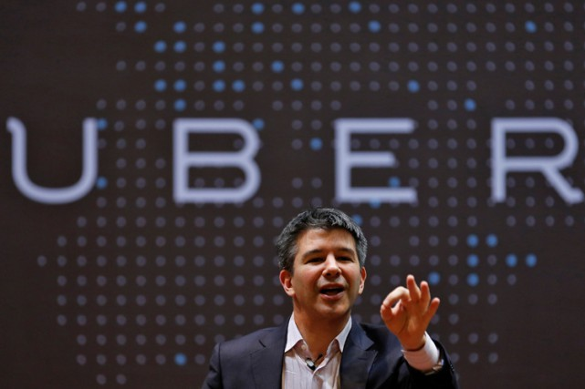 Travis Kalanick... (PHOTO REUTERS)