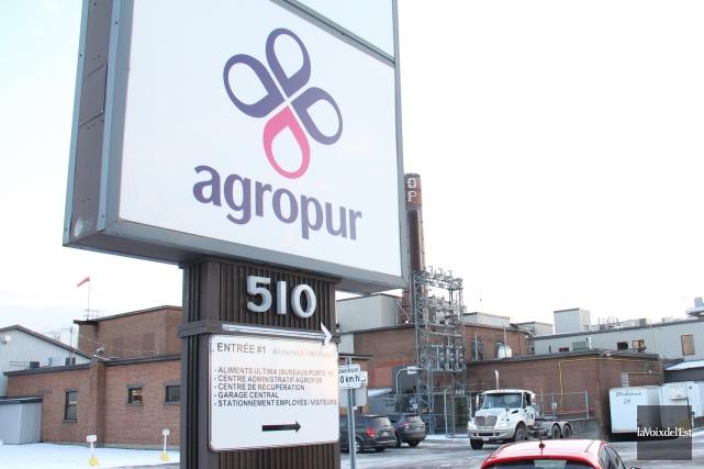 Agropur fait valoir que la transaction «augmentera considérablement... (Archives, La Voix de l'Est)