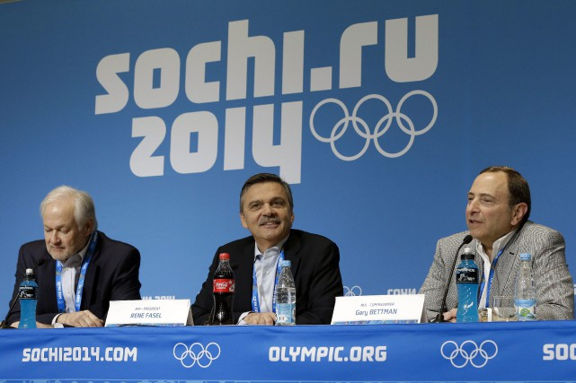 Après Sotchi en 2014, les principaux intervenants dans... (Photo Mark Humphrey, Associated Press)