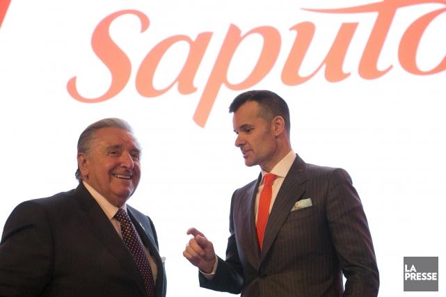Le fondateur de Saputo, Lino Saputo, quittera pour... (Archives La Presse)