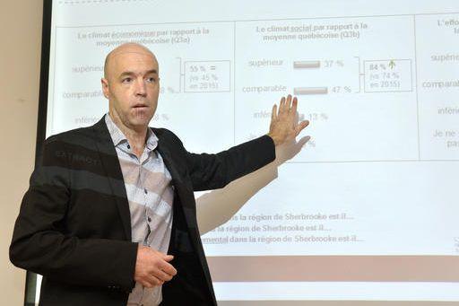 Associé chez Extract recherche marketing, Christian Dupuis a... (Spectre Média, Maxime Picard)