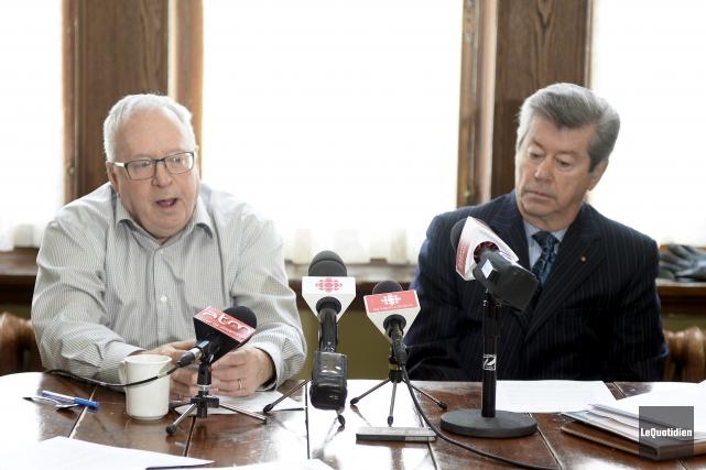 Jacques Pelletier a été élu président du Mouvement... (Photo Le Quotidien, Jeannot Lévesque)