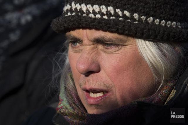 Manon Massé, porte-parole de Québec solidaire et députée... (Archives La Presse)