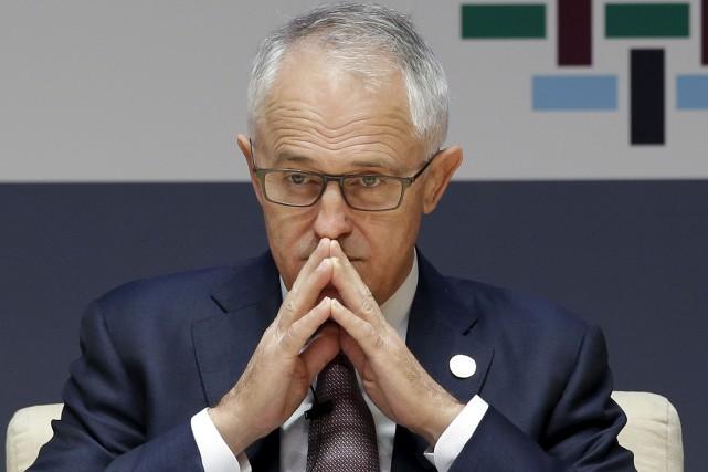 Malcolm Turnbull est premier ministre de l'Australie depuis... (Archives AP)