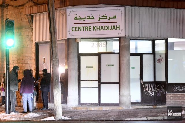 La fille du directeur de la mosquée Khadijah,... (La Presse, Bernard Brault)