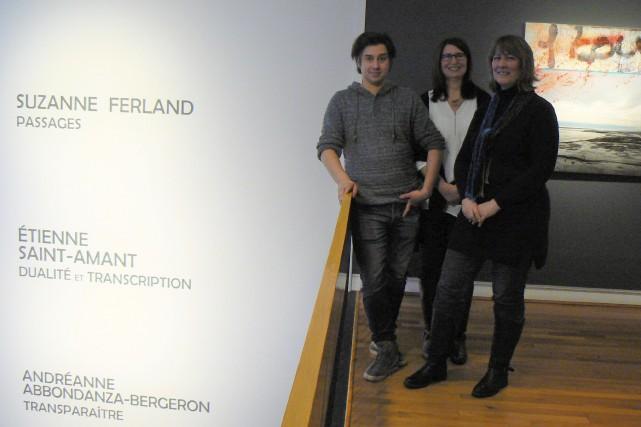 Le Centre culturel Yvonne L. Bombardier entame sa... (La Tribune, Julie Lupien)